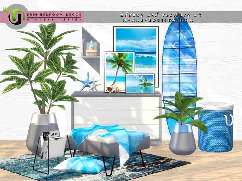 Erin Bedroom Decor Mod Sims 4 Mod Mod for Sims 4